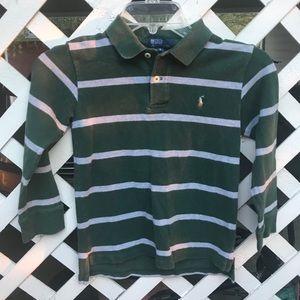 Ralph Lauren Polo Boy's Longsleeve Shirt, Size: 7